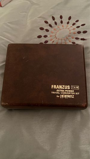 Franzus Foreign Electricity Converters with Case for Sale in Holiday, FL