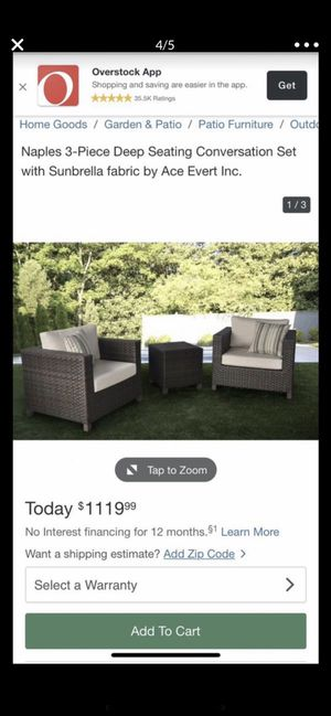 Outdoor patio furniture for Sale in Anaheim, CA