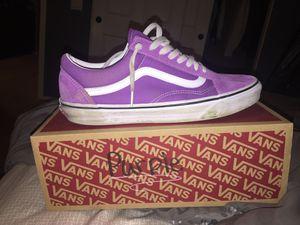 Purple Old Skool Vans for Sale in Temecula, CA