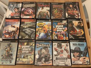 Ps2 games for Sale in Tampa, FL