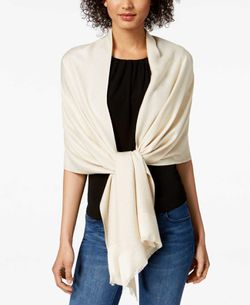 INC Women Reversible Shine Wrap Beige for Sale in Norfolk,  VA