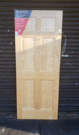 Brand new wood pine door. Never used for Sale in Queens, NY