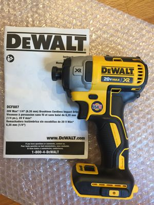 New DeWalt Brushless Xr Impact Driver For Sale for Sale in Edmonds, WA