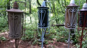 Antique metal tiki torches for Sale in Eau Claire, WI