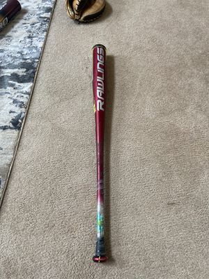 Rawlings 2016 Velo 33/30 Baseball Bat for Sale in Maple Valley, WA