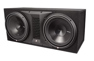 ROCKFORD FOSGATE 2400W DUAL 12' PUNCH P3 SERIES LOADED SUBWOOFER ENCLOSURE for Sale in Orlando, FL