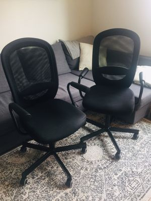 IKEA FLINTAN/NOMINELL Office Chairs (2x) for Sale in Glendale, CA