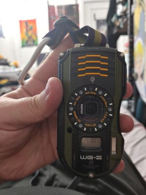 PICKUP ONLY - Pentax WG3 GPS Rugged Camera for Sale in Seymour, CT
