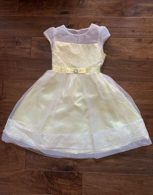 Girls Size 8 Special Occassion/easter/spring Dress Yellow Jona Michelle Tulle. for Sale in Irvine, CA