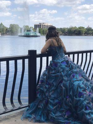 Dress sweet fifteen for Sale in Orlando, FL