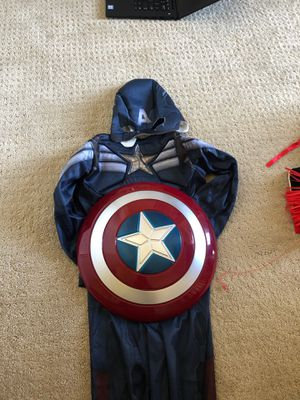 Marvel captain America kids costume 4 - 6 years for Sale in Irvine, CA