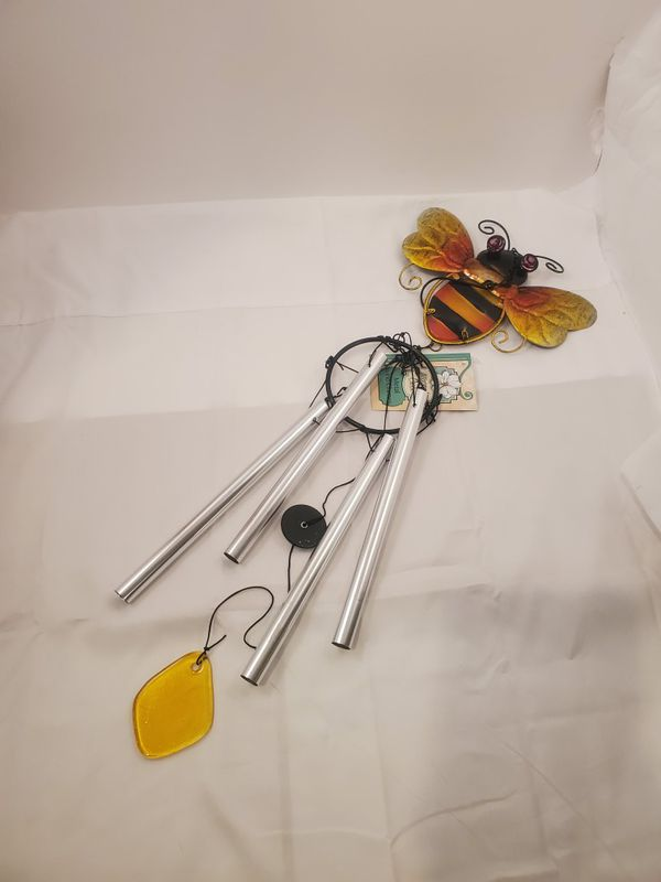 Bee Metal Windchime