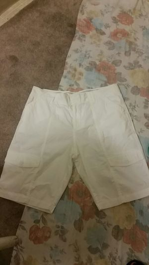 Ladies long white shorts size 10 for Sale in Orange, CA