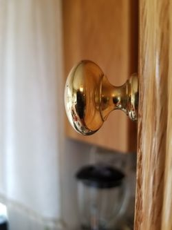 (24) Solid Brass Knobs & (15) Child Protector Latches for Sale in Hazlet,  NJ