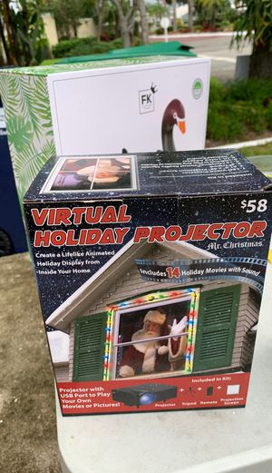 Holiday projector for Sale in Miami, FL