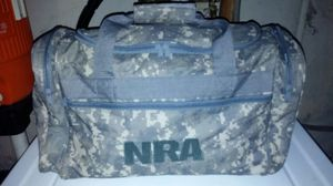 Camouflage NRA Duffle Bag (New) for Sale in Saint Louis, MO