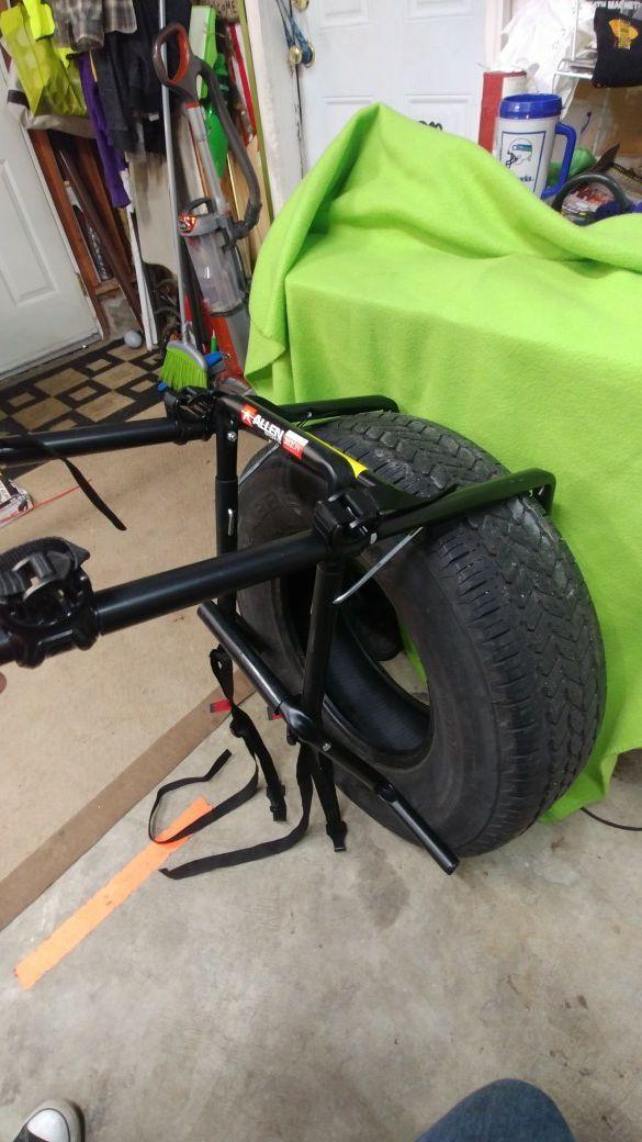 Allen bike rack