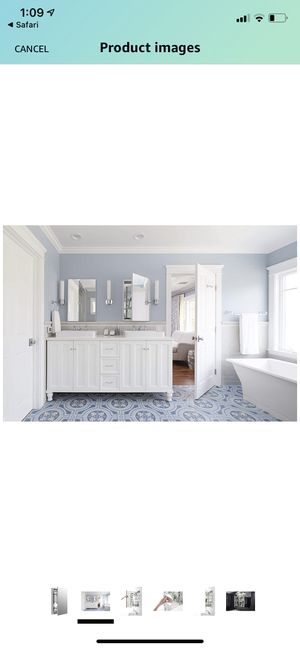 Medicine Cabinet by KOHLER, Bathroom Medicine Cabinet with Mirror, Verdera Collection, 20 Inch X 30 Inch, Slow Close Magnifying Mirror, K-99003-NA for Sale in Union, NJ