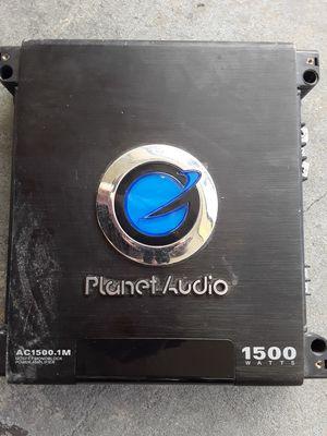 1500 watt subwoofer amp for Sale in Clearwater, FL