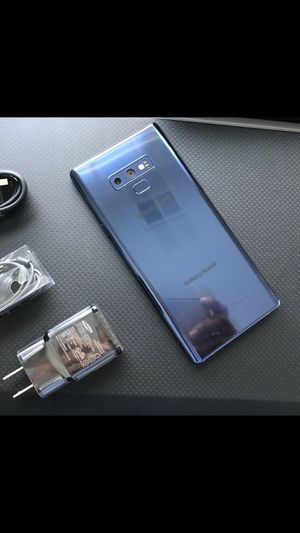 Samsung Galaxy Note 9 - factory unlocked, clean IMEI, just like new for Sale in Springfield, VA