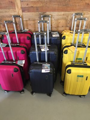 Brand new 3 piece hard luggage sets suitcases for Sale in Auburndale, FL