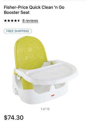 Brand New Fisher-Price Booster Seat for Sale in Bakersfield, CA