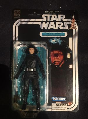 Death Squad Commander 6 Inch Action Figure, Star Wars The Black Series 40th Anniversary Star wars collectible figure for Sale in Queens, NY