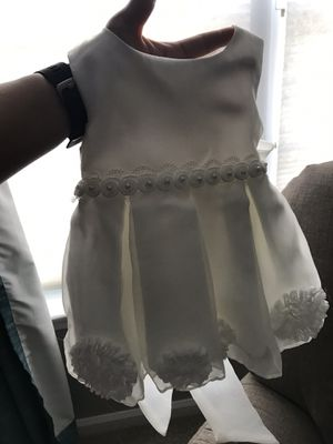 White baby girl Christening Dress-3-6 months for Sale in Alexandria, VA
