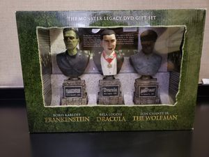The Monster Legacy Gift Set: (Frankenstein / Dracula / The Wolf Man) DVD'S GIFT SET for Sale in Pembroke Pines, FL