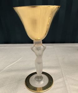 Bayel Antique cordial glasses 24 karat gold plated for Sale in Hollywood,  FL