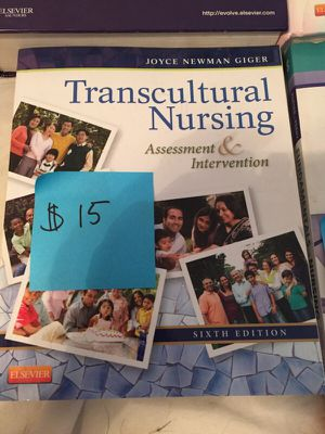 Transcultural nursing assessment and intervention 6th edition for Sale in Columbus, OH