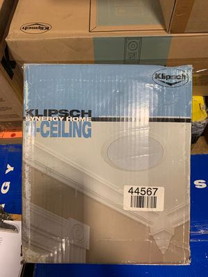 Klipsch Low Profile Speakers KHC-6 White open box like new for Sale in Doral, FL