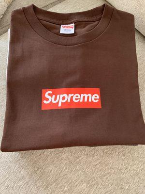 NEW Supreme 25th Anniversary Box Logo T-Shirt - XL/L for Sale in Highland, CA