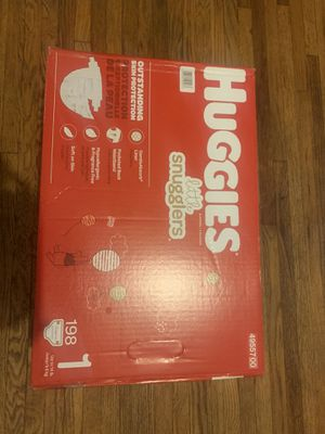 198 ct size 1 Huggies for Sale in Berkeley, MO