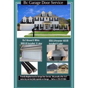 Garage door service for Sale in San Antonio, TX
