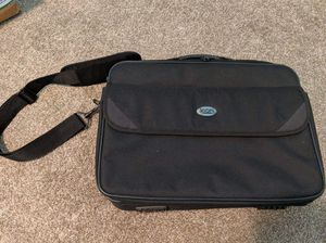 Icon computer brief case messenger bag, black canvas for Sale in Fort Myers, FL