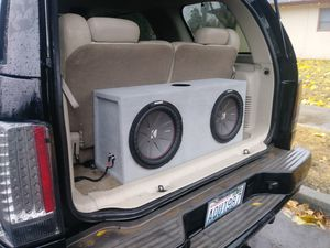 Car audio stereo & customs installations builds. We also rebuild subwoofer enclosures...let us know. Merced California. for Sale in Merced, CA