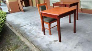 Tàble headborad dresser lots of solid wood furniture for Sale in Pasadena, TX