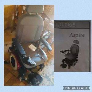 Aspire Quickie motorized mobility chair for Sale in Amarillo, TX