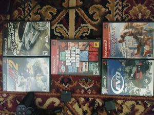 5 ps2 games for Sale in Gaithersburg, MD