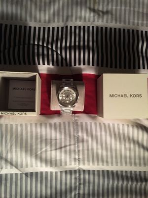 Men's Michael Kors 44mm stainless watch for Sale in Grosse Pointe Park, MI