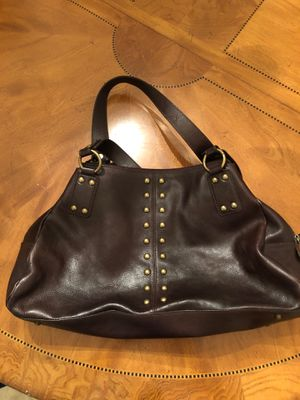 Kate Landry Chocolate brown leather purse for Sale in Trinity, FL