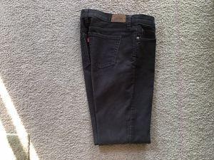Levi corduroy straight 505 women's jeans for Sale in La Mirada, CA