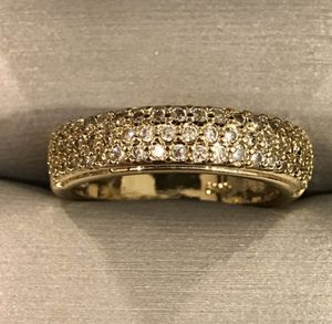14K Gold plated- Diamond Ring- Engagement/Wedding for Sale in Baltimore, MD