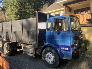 1985 DUMP TRUCK LOWERED PRICE $5500 for Sale in Seattle, WA
