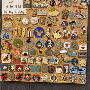 Individual Disney Pins! for Sale in Buena Park, CA