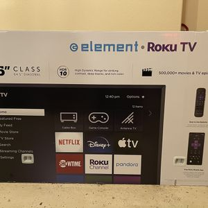 Element 65 Inch 4K Tv Brand New for Sale in Portland, OR