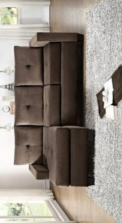 Phelps Chocolate Reversible Sofa Chaise for Sale in Pflugerville,  TX