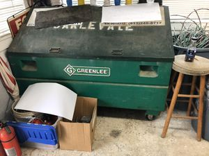 Greenlee job site box for Sale in Tampa, FL