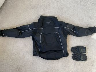 MOTORCYCLE JACKET w/ Gloves for Sale in Accokeek,  MD